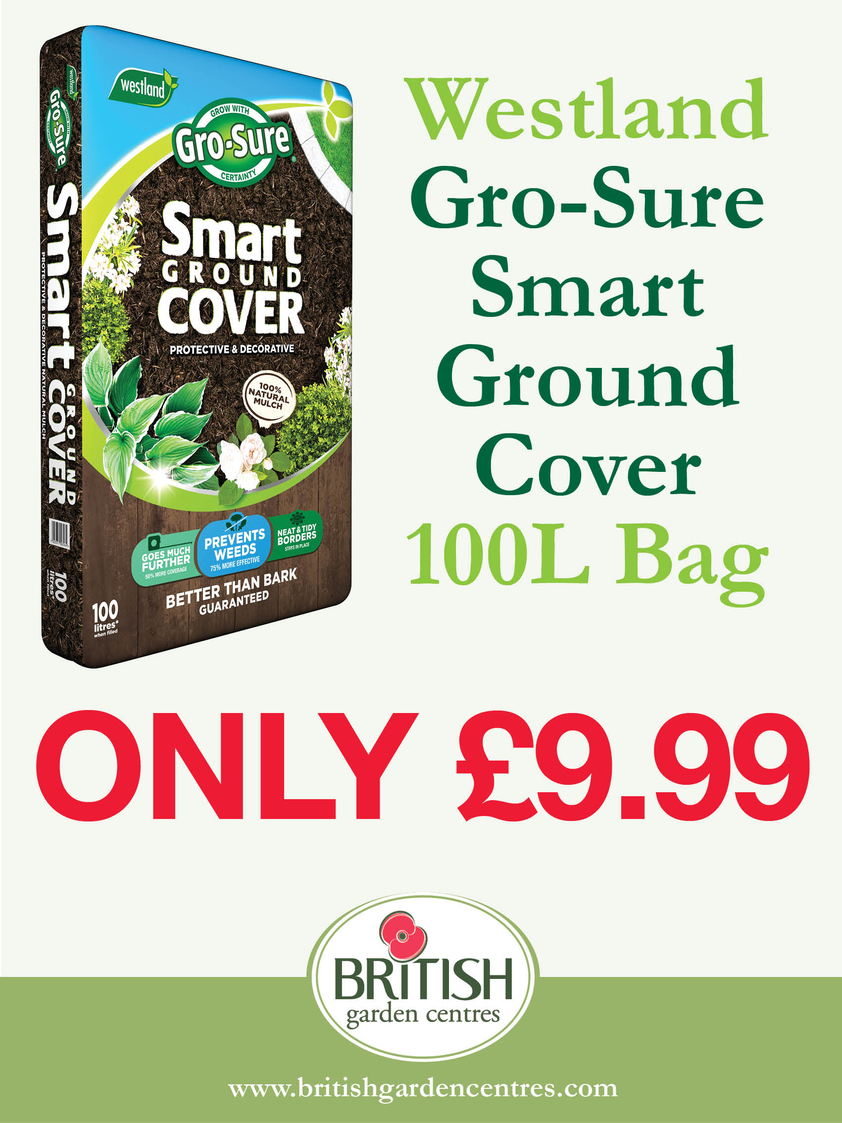 Gro-Sure Smart Ground Cover 100L
