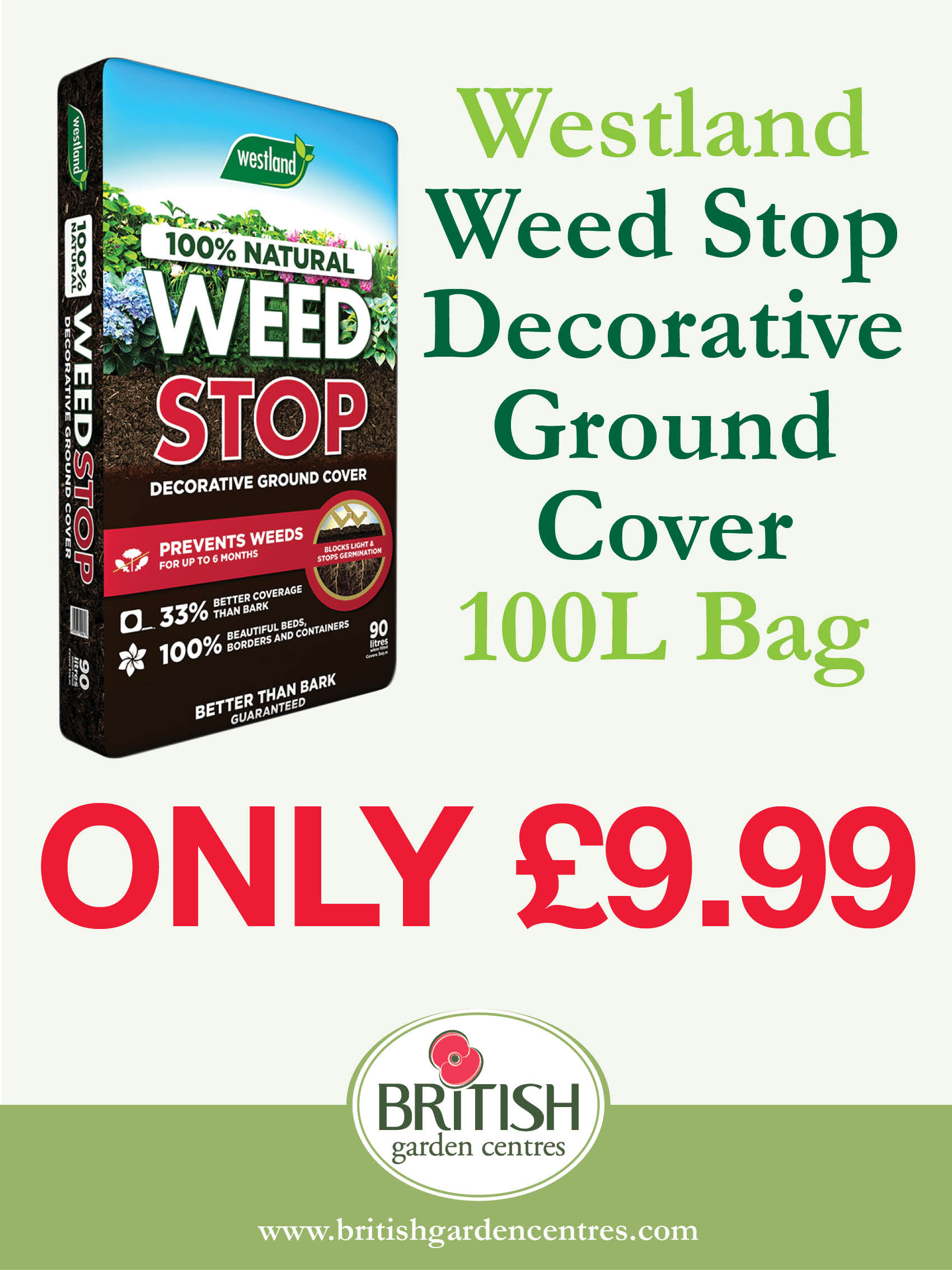 Weed Stop Decoartive Ground Cover 100L