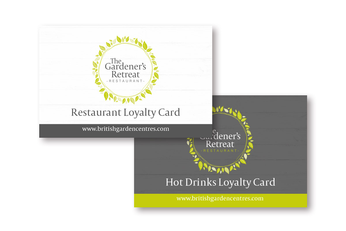 Loyalty Cards at Gardeners Retreat Restaurant