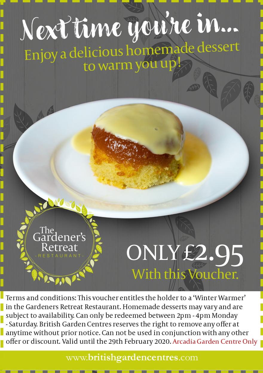 Winter Warmer Pudding Voucher