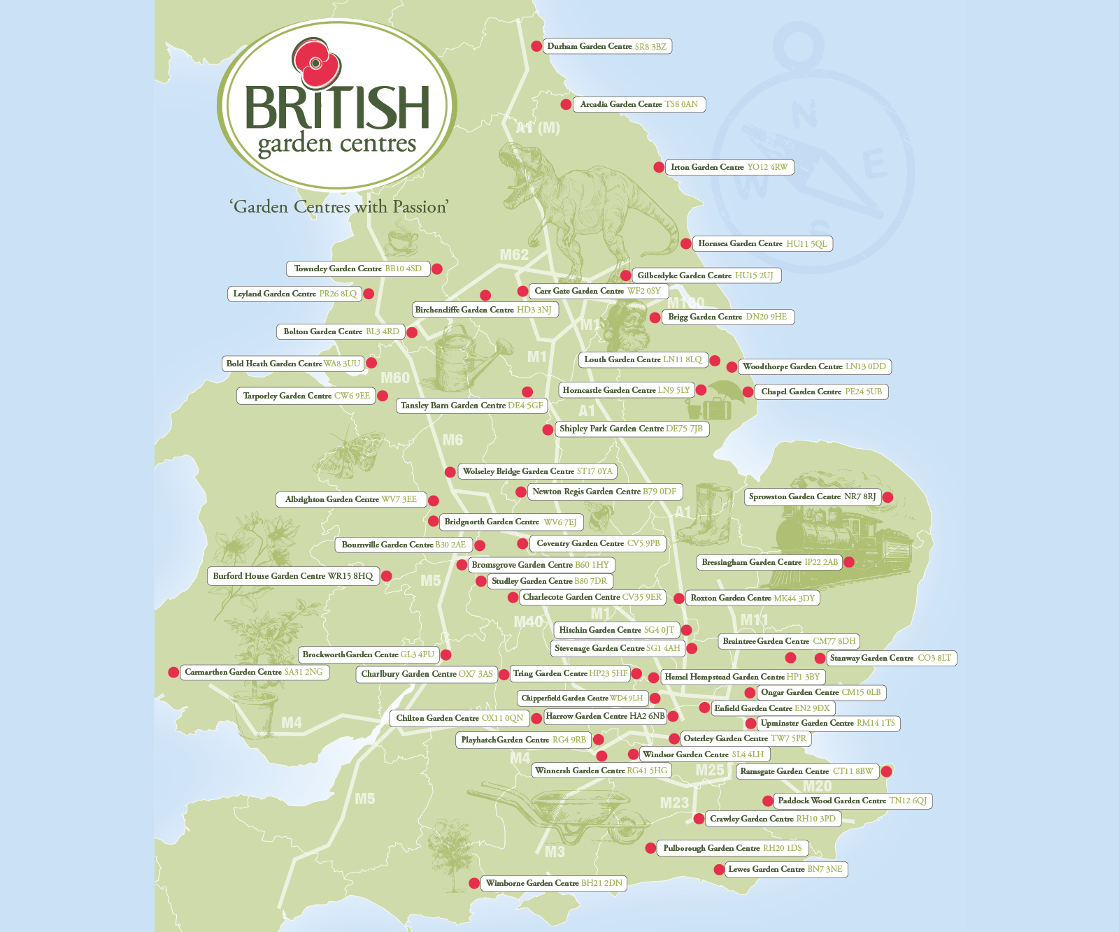 Find your nearest British Garden Centre