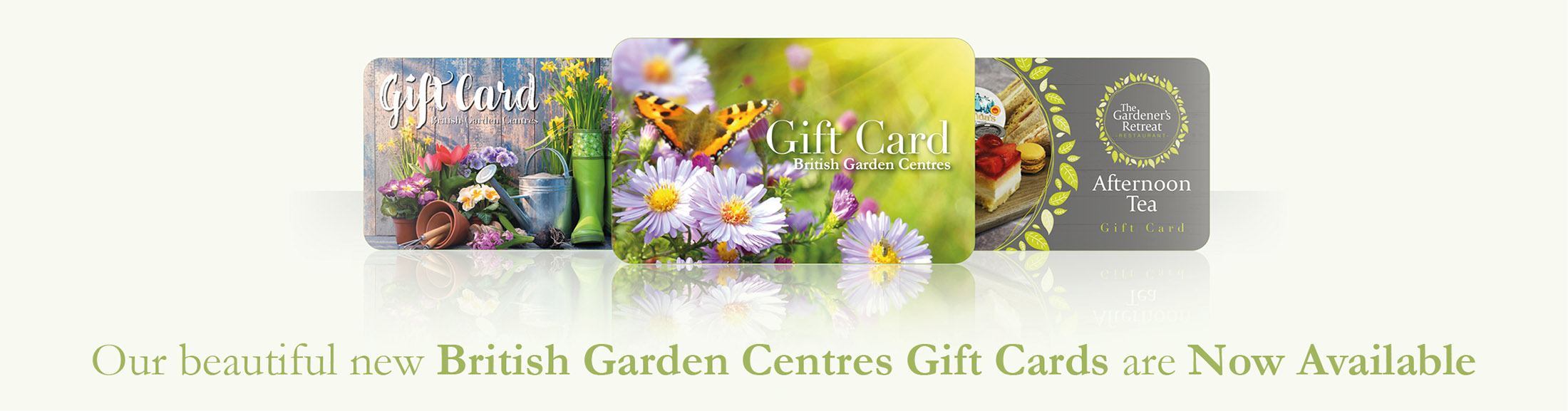 Gift Cards at Brigg Garden Centre