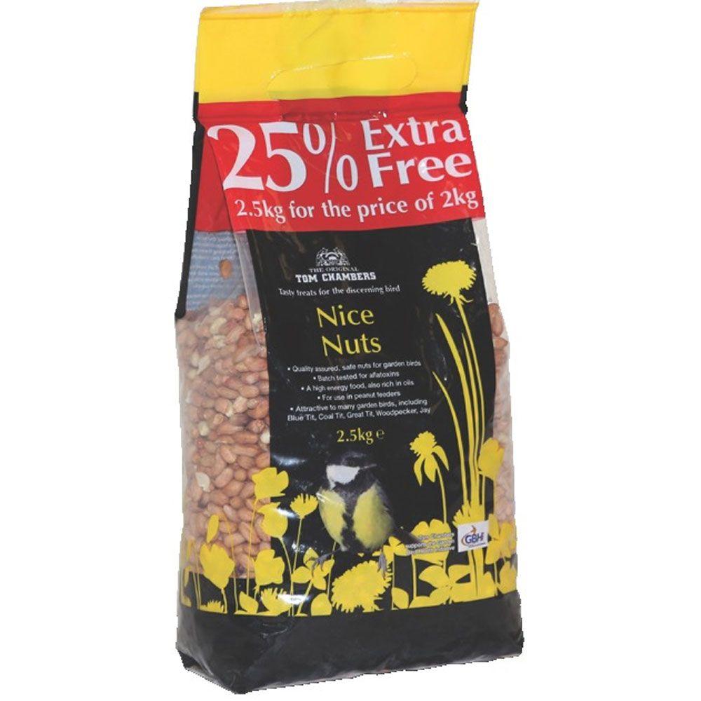 Nice Nuts Peanuts 2.5kg