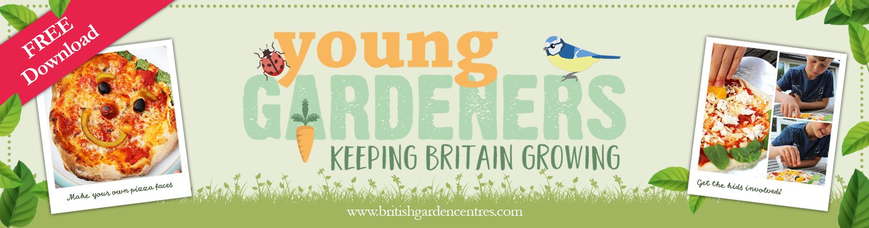 Young Gardeners - Pizza Faces