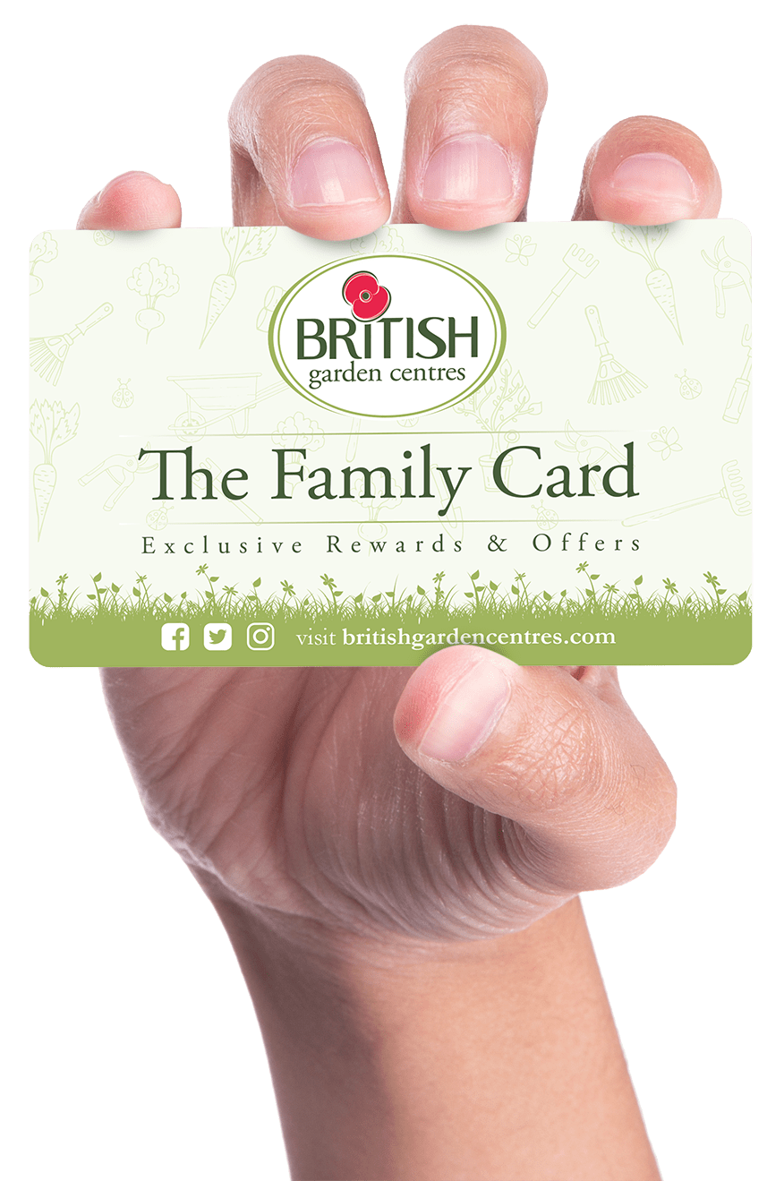 British Garden Centres Family Card