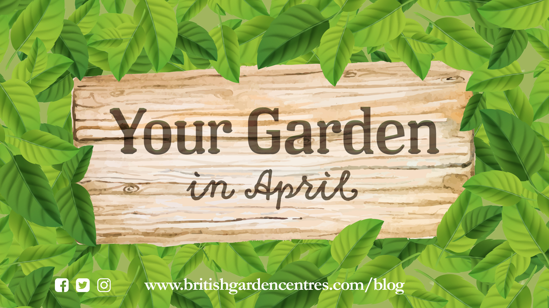 Your Garden in - April