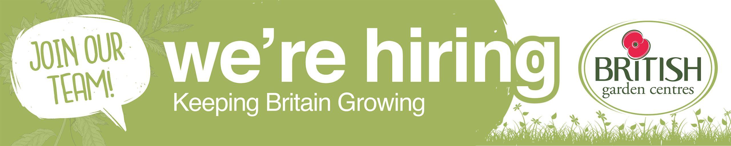 Recruitment banner