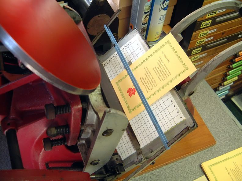 Bob Richardson's Platen Grid