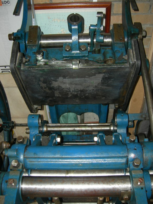 Arab: front platen removed