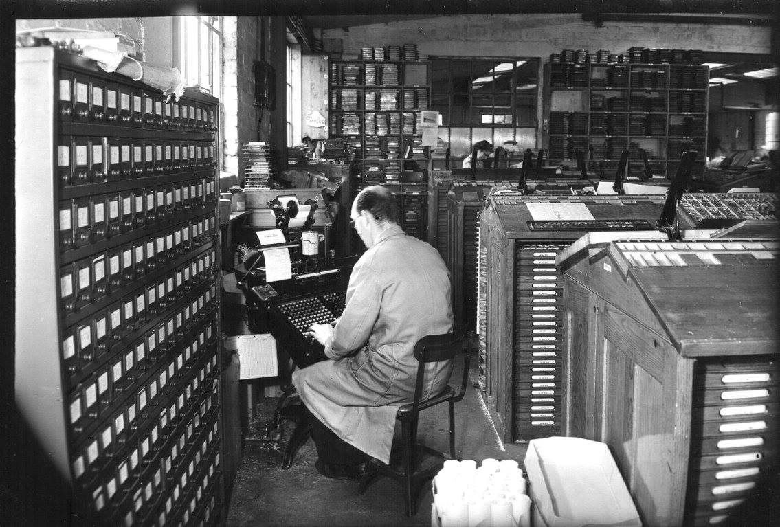Press Here: Culross the Printers in the 1940s