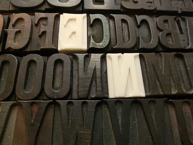 Cambridge News Network: 3D Printed Letterpress Blocks