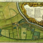 Plan of the royal gardens of Richmond [Kew Gardens] ca.1750