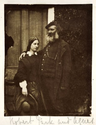 Robert Park (1812-1870) and his daughter Agnes Park (1843-1927)