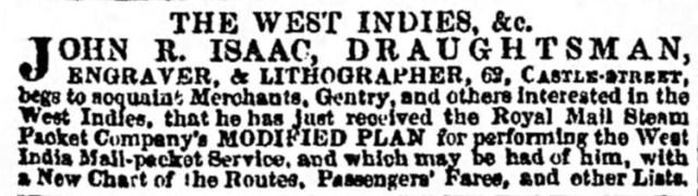 Liverpool Mercury, 23rd June 1843. © Findmypast Newspaper Archive Ltd.