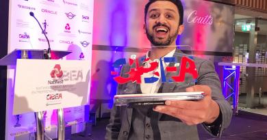 Charity Chairman wins prestigious National Great British Entrepreneurship Award