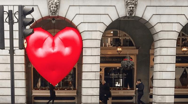 Chubby Hearts by Anya Hindmarch transform London's famous Landmanrks