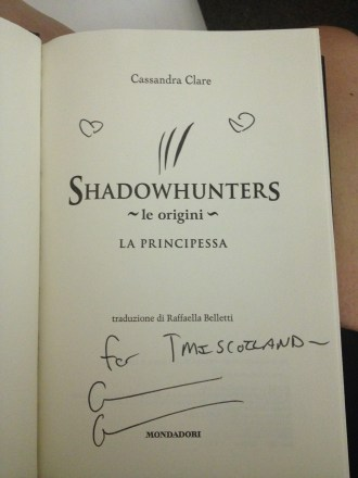Signed book!