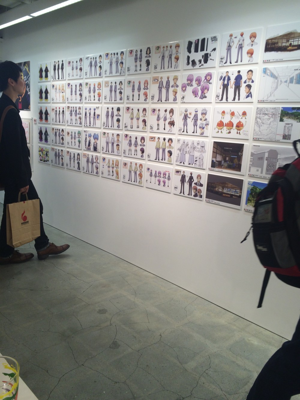 Assassination Classroom Exhibition In Nakano Broadway Week British Otaku