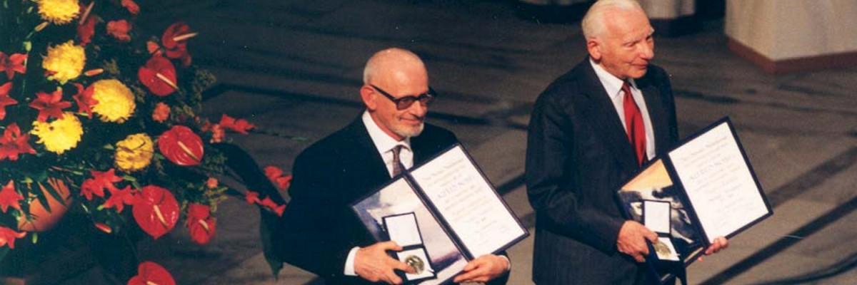 Nobel Peace Prize ceremony 1995