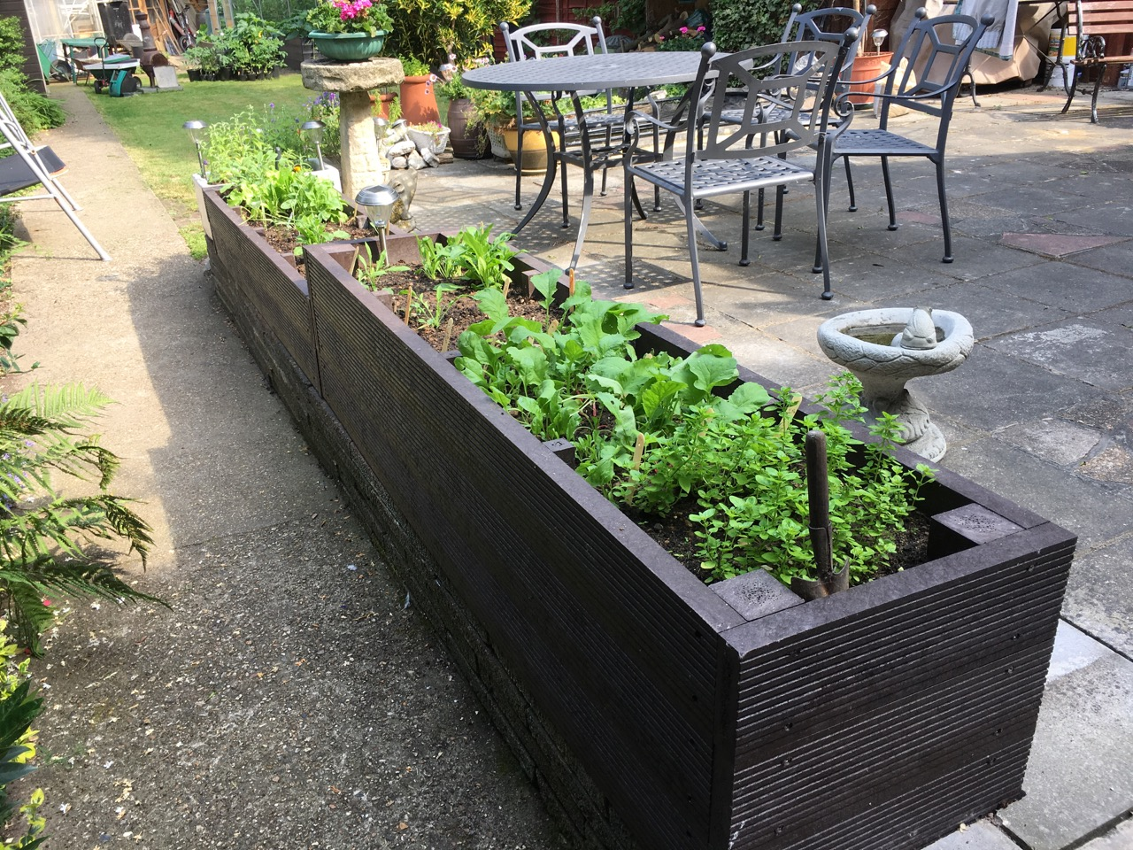 Plastic Raised Garden Beds