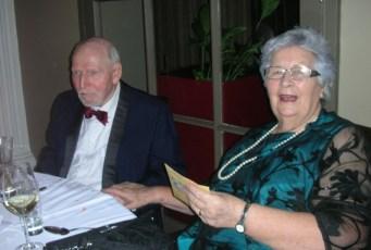 2013.11.19 Bob & Mavis @ Arches BRA Dinner