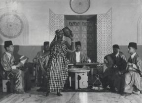 'The Moorish Café' display in the Libya Pavilion, 1940 in Arena, 2011