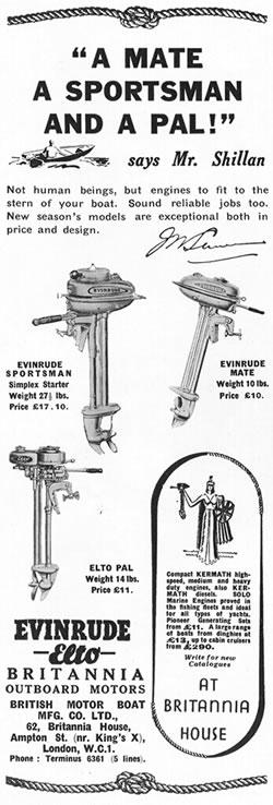 Evinrude models (1939)