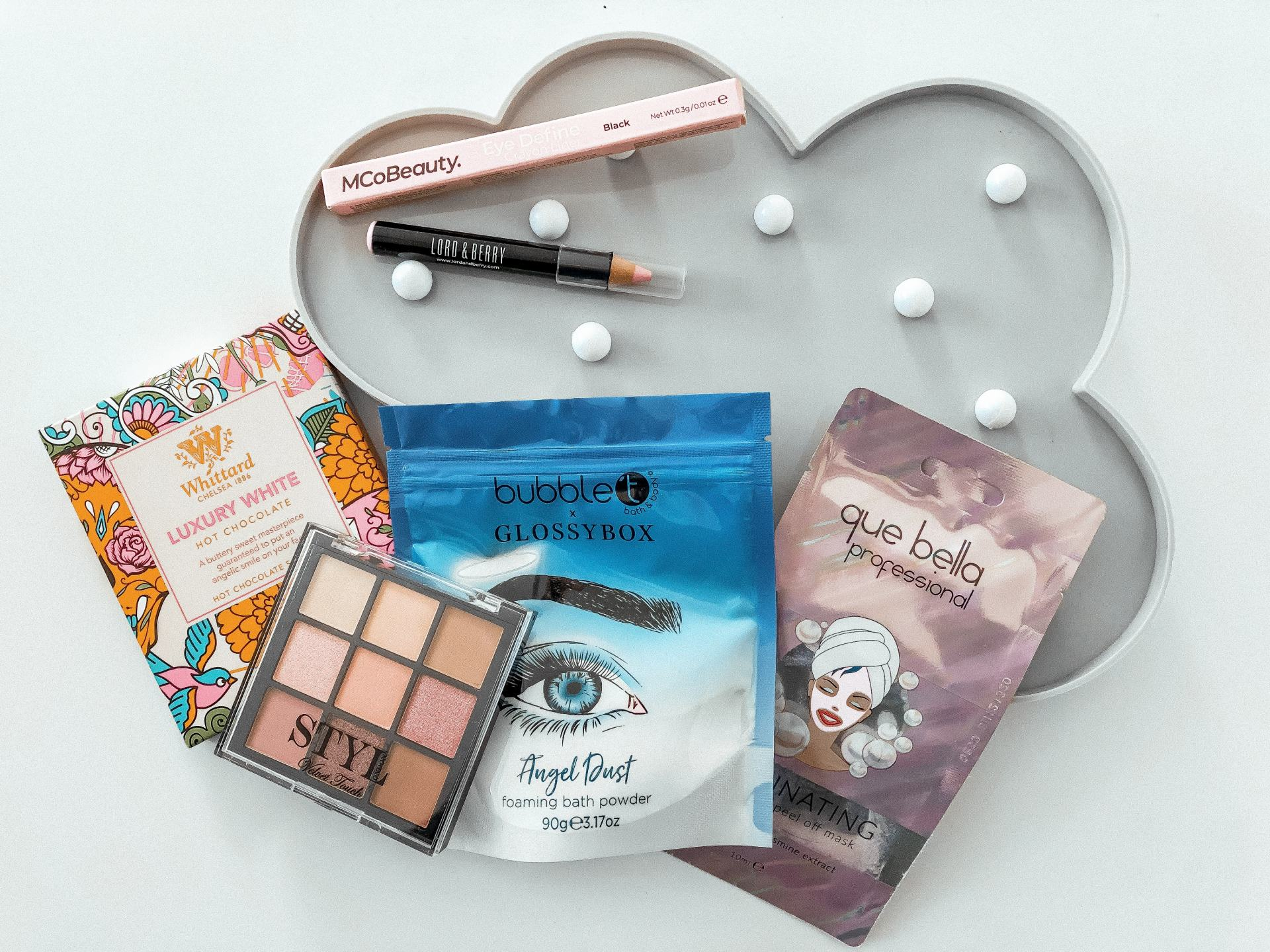 Review Glossybox Monthly Beauty Subscription British Style Society
