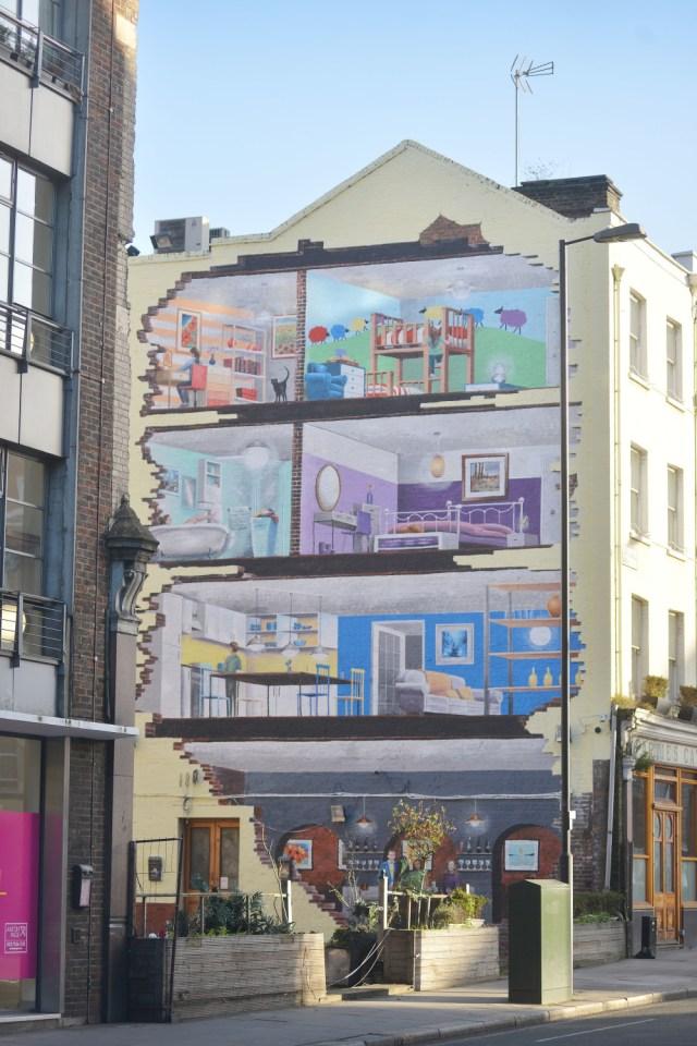House art mural