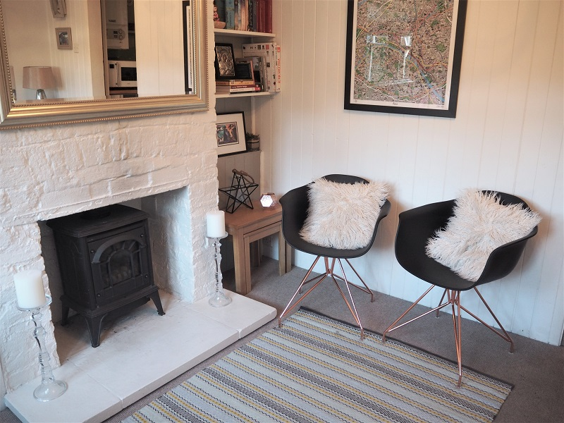 Living room update with Cult Furniture Moda armchairs
