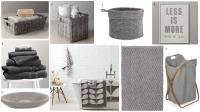 Grey bathroom accessories - BritishStyleUK