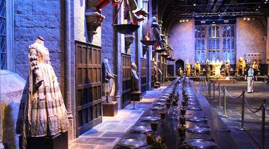Great Hall Warner Bros Studio Tour