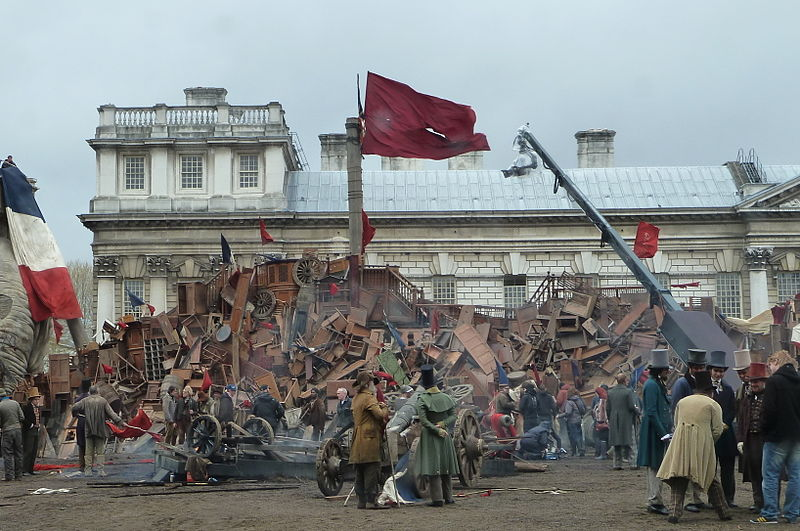Les Miserables Filming Set