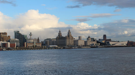River Mersey Liverpool
