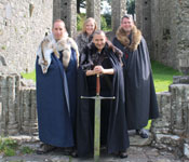 Game of Thrones Tour from Belfast with Castle Ward and Direwolves