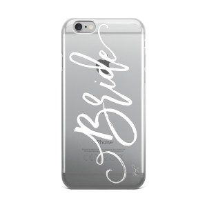 Bride – iPhone case