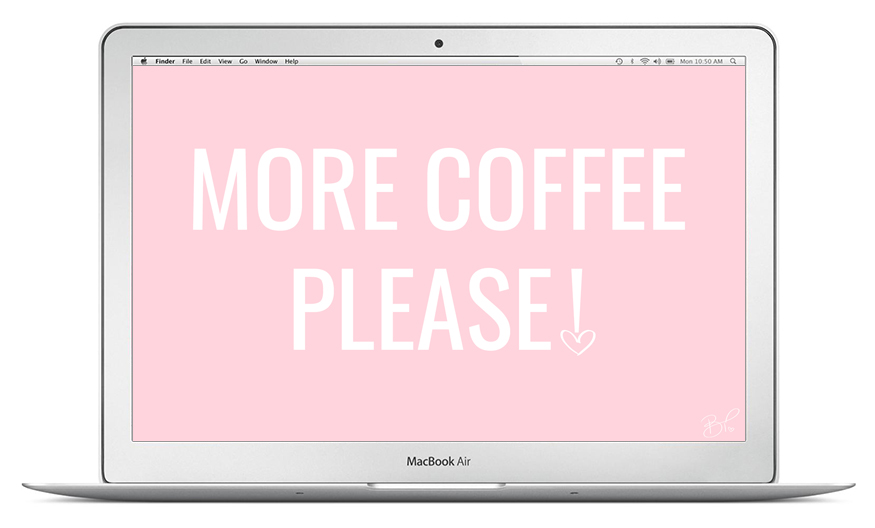more coffee please september desktop wallpaper free download
