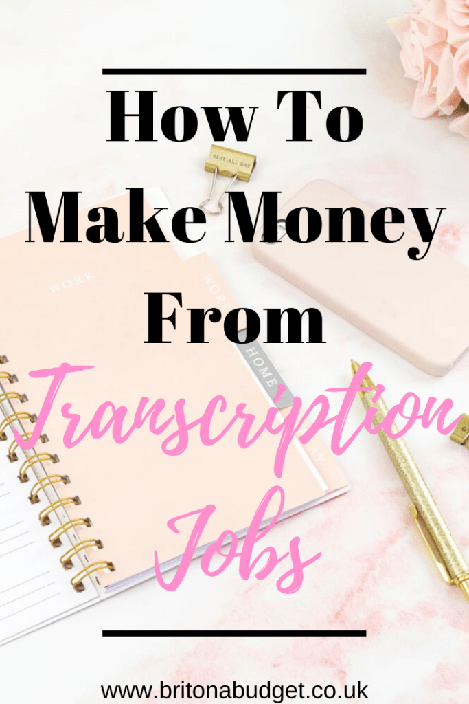 how to make money from transcription jobs