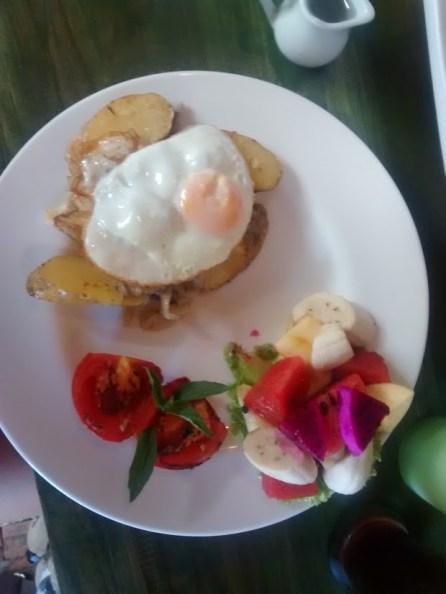 breakfast day two...NOM NOM