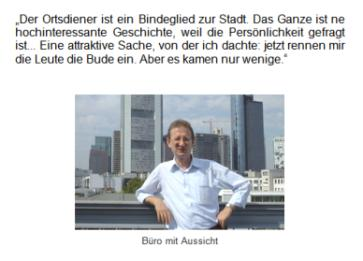 "Peter Postleb ist Leiter der Stabsstelle ""Sauberes Frankfurt""."
