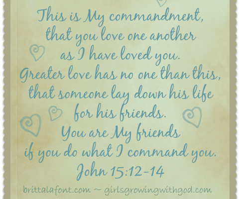 Memory Verse Monday: March 17