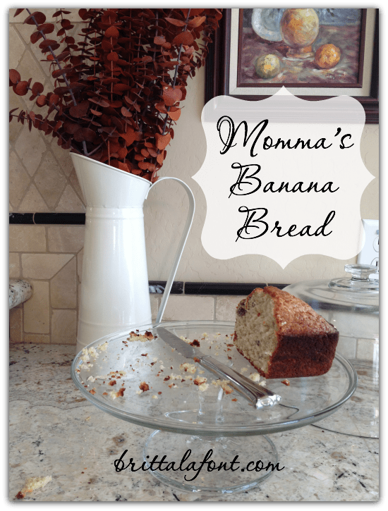 MommasBananaBread