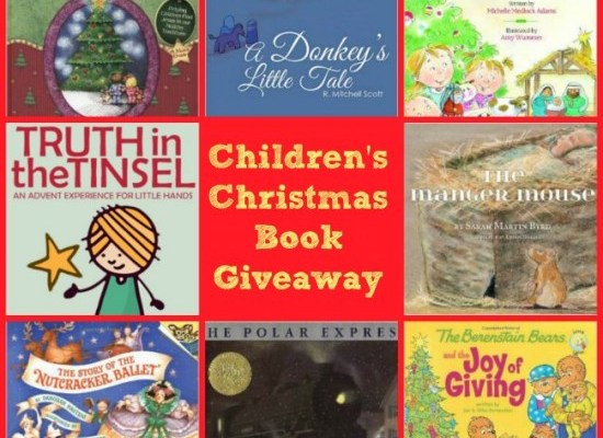 """""""Thanks Mom!""""  A Kids' Christmas Book Giveaway"""