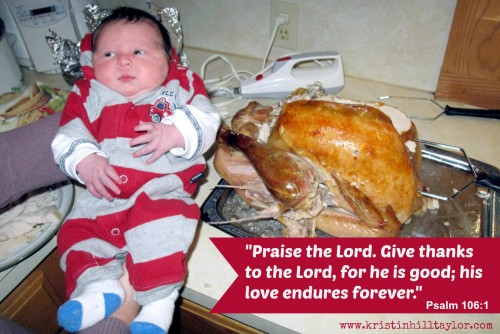 the thanksgiving baby