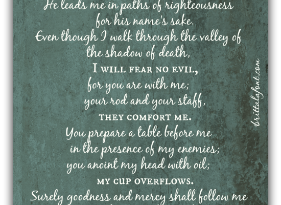 God's Overflowing Love