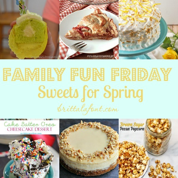 Sweets for Spring