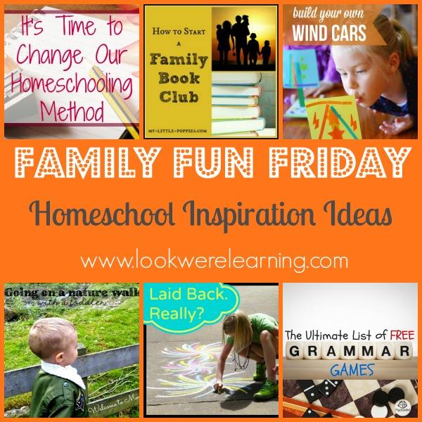 Homeschool Inspiration Ideas