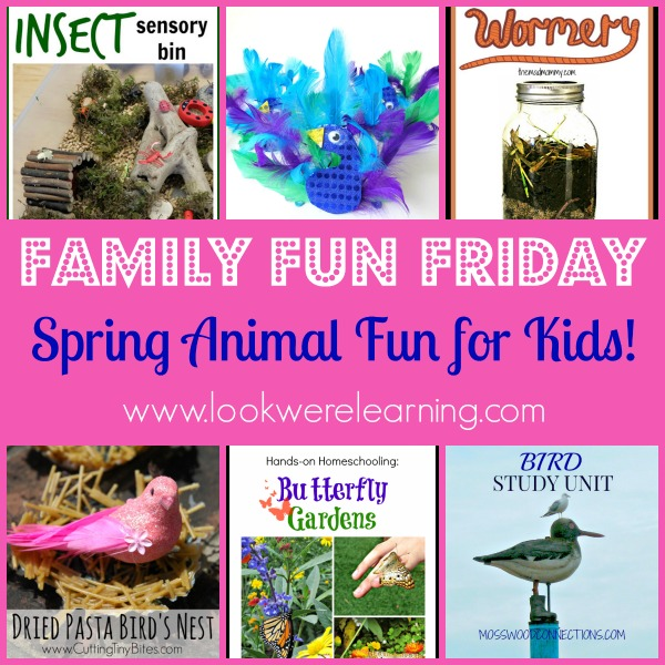 Spring Animal Crafts and Activities
