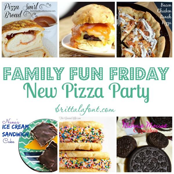 pizza recipes, smores, ice cream, family fun