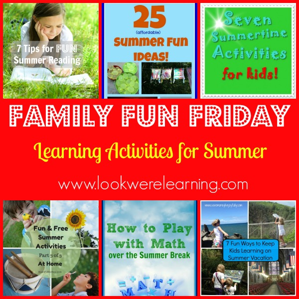 Learning Activities for Summer